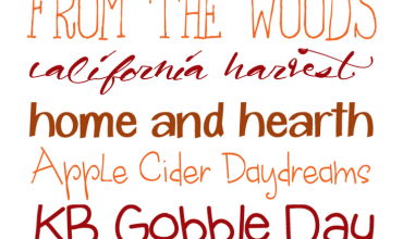 9 Warm & Cozy Fall Fonts