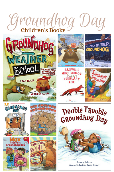 10 cute Groundhog Day Books your children are going to love