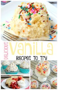 Delicious Vanilla recipes to try