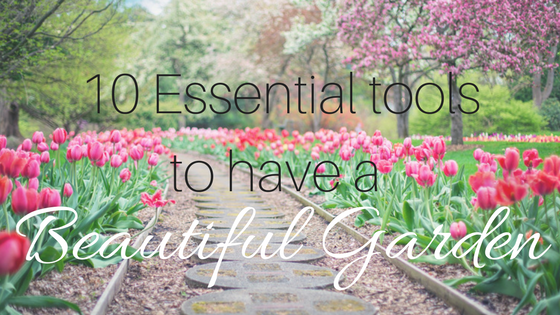 essential tools to have a beautiful garden