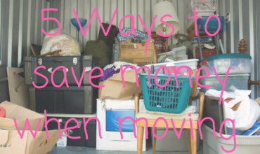 5 ways to save money when moving