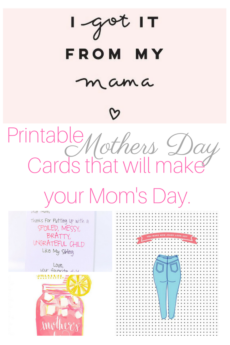 image regarding Sweetest Day Cards Printable known as Absolutely free Printable moms working day playing cards versus over the blogosphere