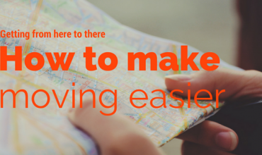 How to make moving day easier: Getting from here to there.